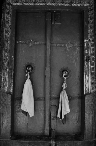 Tür zum Tempel Likir